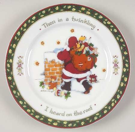 Susan Winget Christmas Dishes