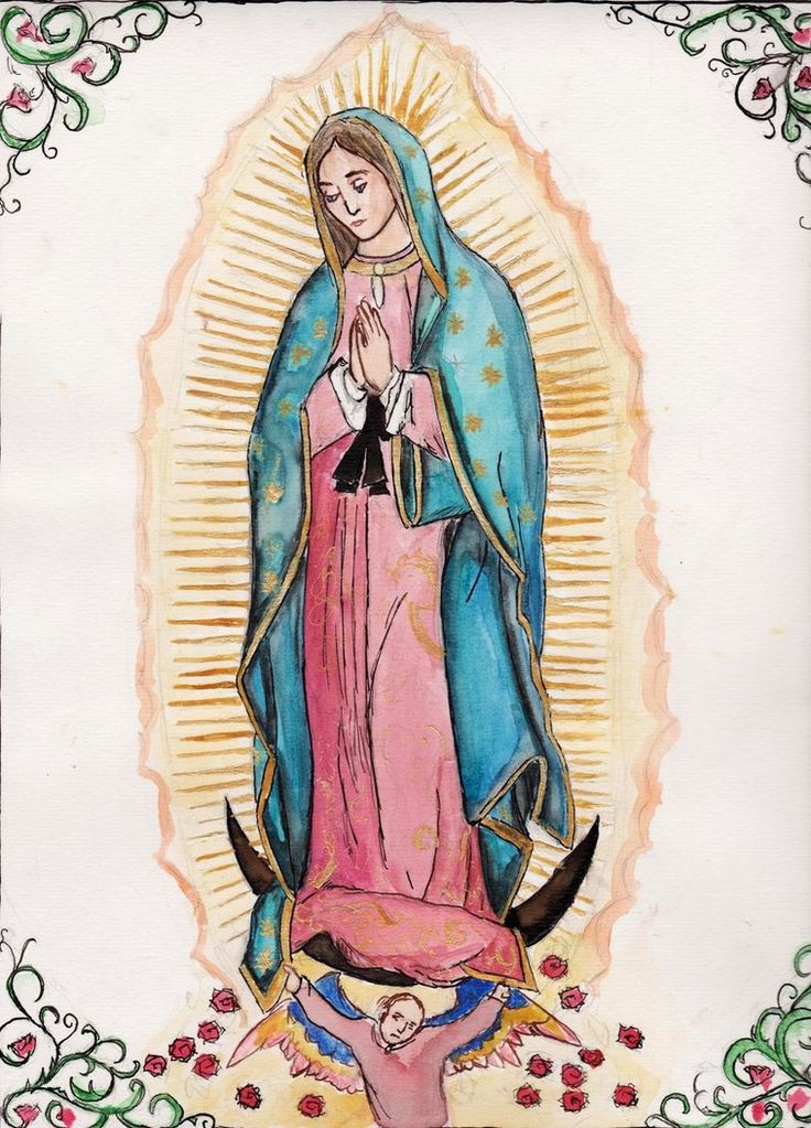 Our Lady of Guadalupe by Aodhagain on DeviantArt