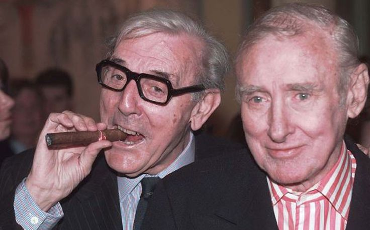 Spike Milligan and Eric Sykes in 1997