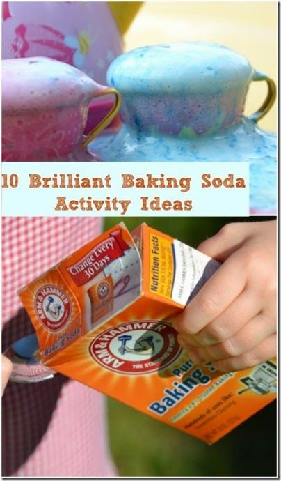 10 Baking Soda Science Experiments for Kids - Kids from preschool and kindergarten to elementary age will enjoy these hands on science experiments using baking soda. Great for homeschooling families!