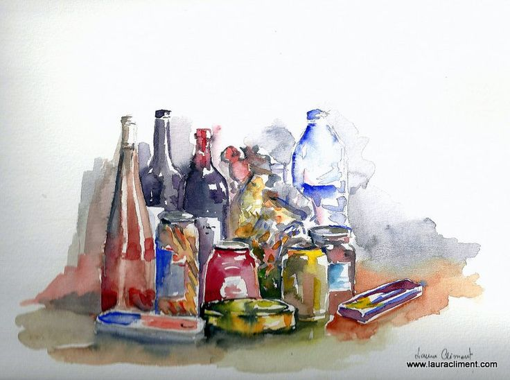 The purchase (Watercolor)