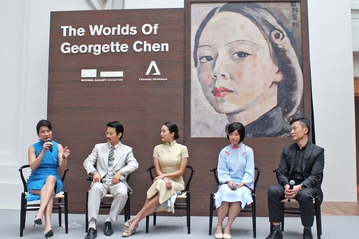 Rui En steps into the shoes of iconic artist Georgette Chen in new docudrama - Channel NewsAsia