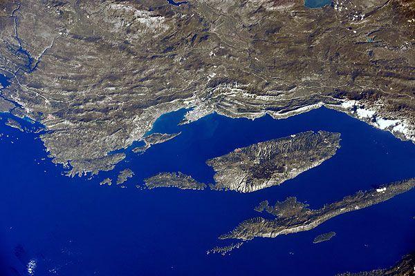 Ilyen Horvátország az űrből!