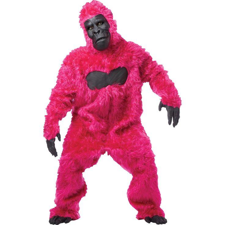 Gorilla Adult Pink