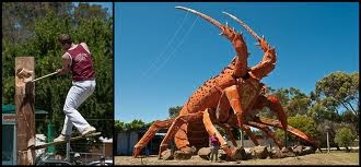 THe big Prawn. Aussies and our big things