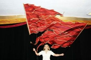 Fire Flags – Silk Worship Flags