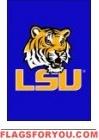 "LSU Tigers Garden Window Flag 15"" x 10.5"""