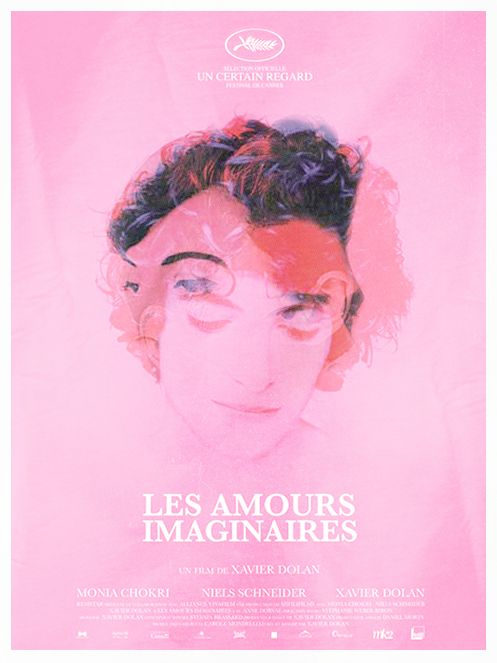"""Les amours imaginaires - Xavier Dolan 2010 -- """"Francis & Marie, deux amis, tombent amoureux de la même personne. Leur trio va rapidement se transformer en relation malsaine où chacun va tenter d'interpréter à sa manière les mots et gestes de celui qu'il aime..."""""""