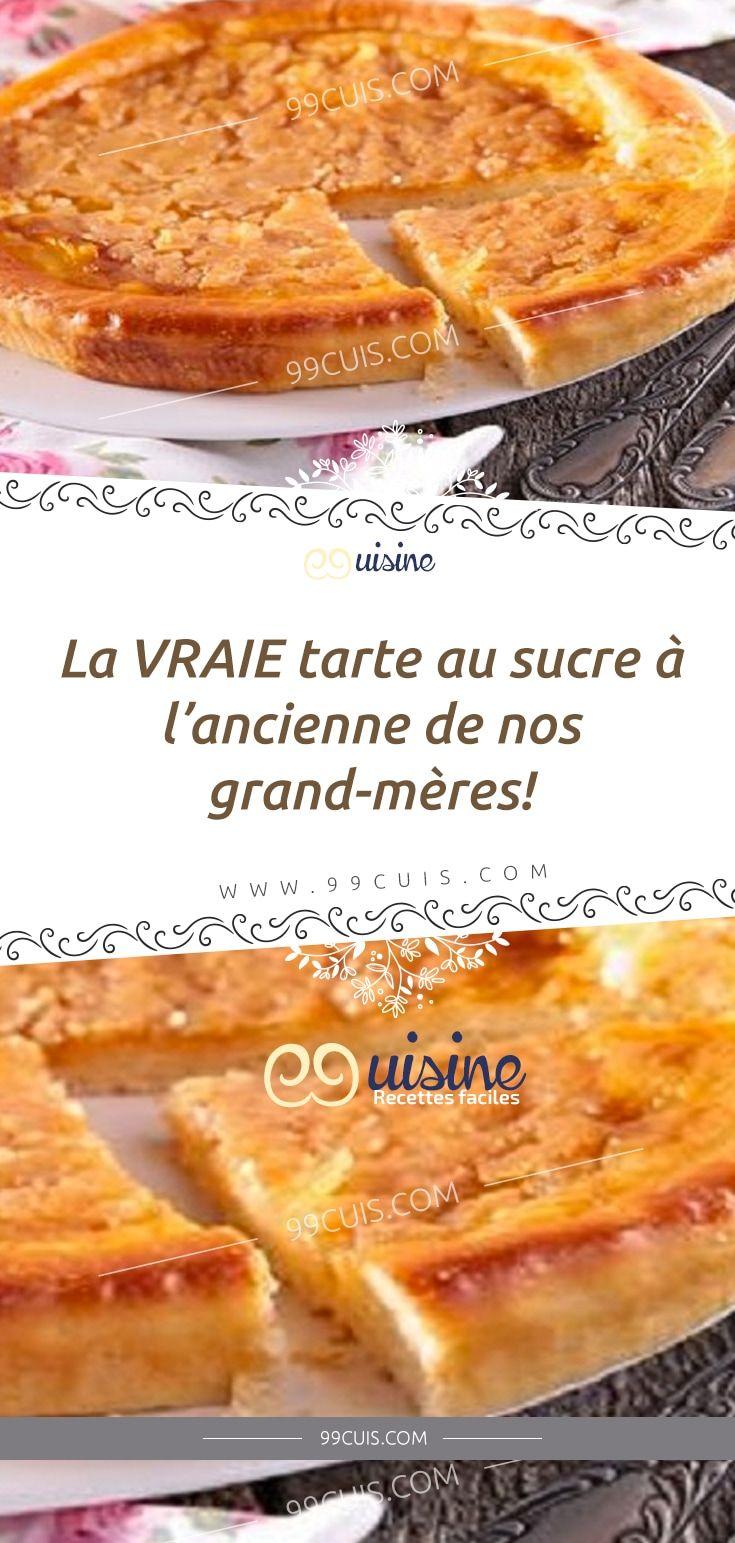 Recette Ancienne De Nos Grands Mères : recette, ancienne, grands, mères, VRAIE, Tarte, Sucre, L'ancienne, Grand-mères!, Desserts,, Food,, Breakfast