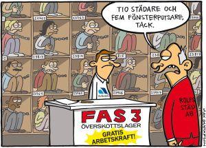#Arbetslös #fas3
