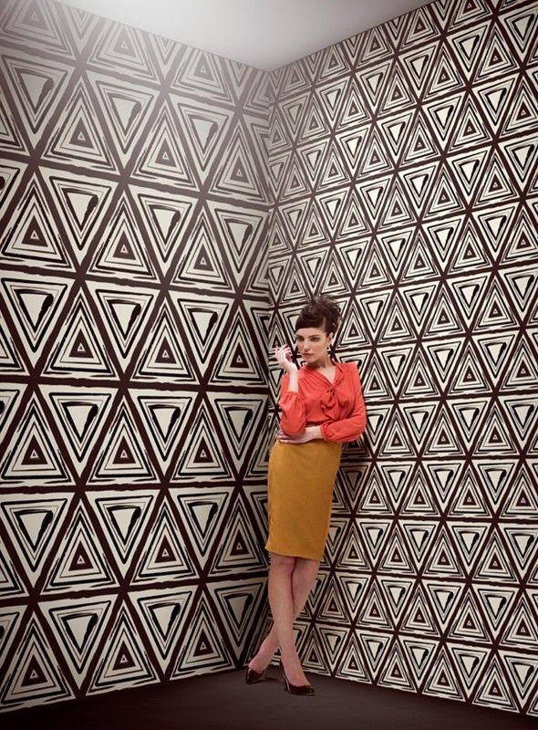 ETNIK INK. To purchase: contact RADform at +1 (416) 955-8282 or info@radform.com  #wallpaper #interiordesign #moderndesign #contemporarydesign #radform #architecture #commercial #hospitality
