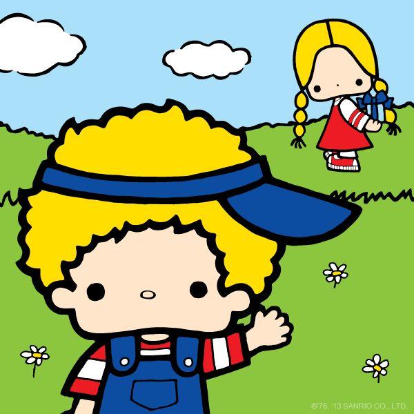 Patty and Jimmy love playing outside!