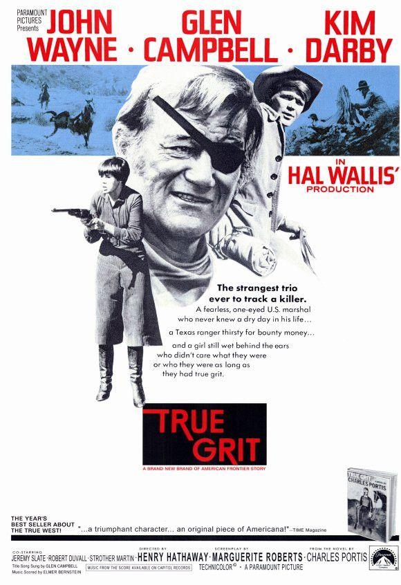 True Grit 11x17 Movie Poster (1969)