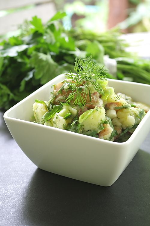 @Jacqui Maher Sullivan, that's a French potato salad we'd love to have on our table