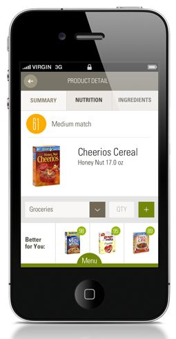 Make Smart Food Decisions On The Go  Scan products to get personalized food scores Take your healthy grocery list to the store Always have expert nutrition advice with you