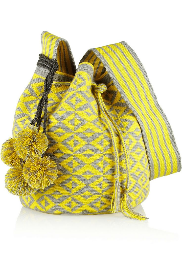 Sophie Anderson | Nataly woven cotton bucket bag | NET-A-PORTER.COM