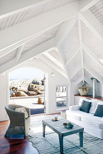 A home right at a beach in Cape Town