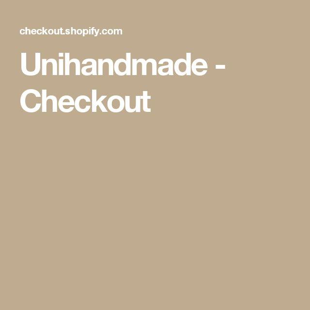 Unihandmade - Checkout