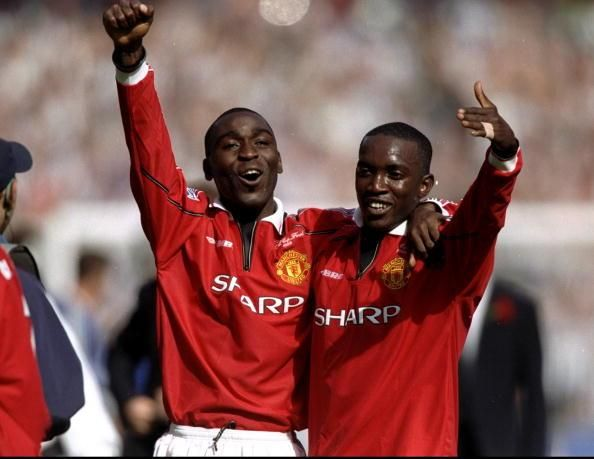 Andy Cole & Dwight Yorke