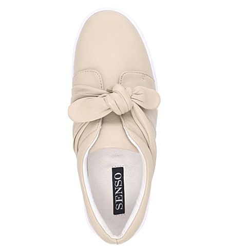 SENSO Annie leather slip-on trainers