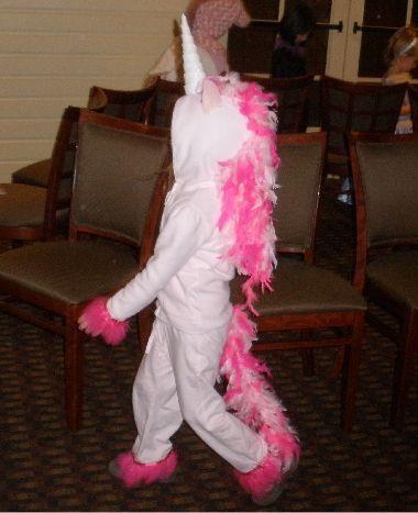 Homemade Unicorn Costume For Kids