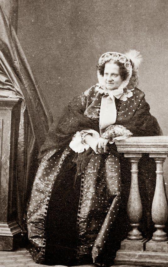 La reina María Cristina de Borbón-Dos Sicilias, viuda del rey Fernando VII