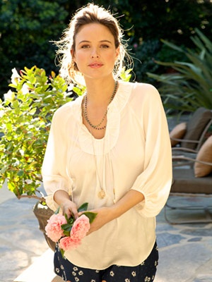 josie maran... smart businesswoman & model