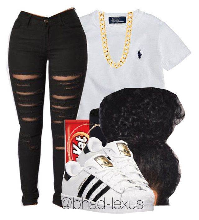 """"""""""" by bhad-lexus ❤ liked on Polyvore featuring Ralph Lauren, Forever 21 and adidas"""