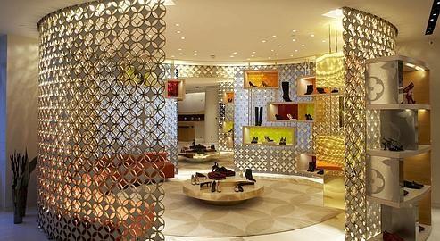 Salon Louis Vuitton, intimiste et luxueux pour une clientèle privilégiée