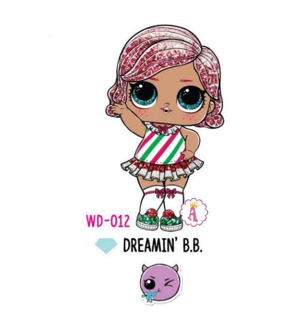Dreamin' B.B. WD-012   Куколки, Детские картины, Куклы