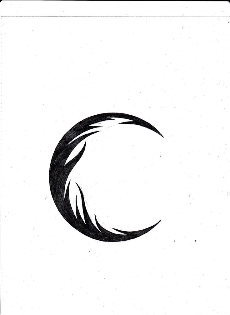 30 best images about Tribal Crescent Moon Tattoo on ...