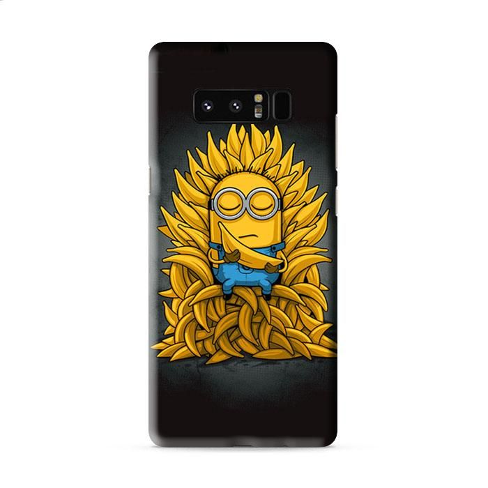 GAME OF THRONES MINIONS BANANA Samsung Galaxy Note 8 3D Case Caseperson