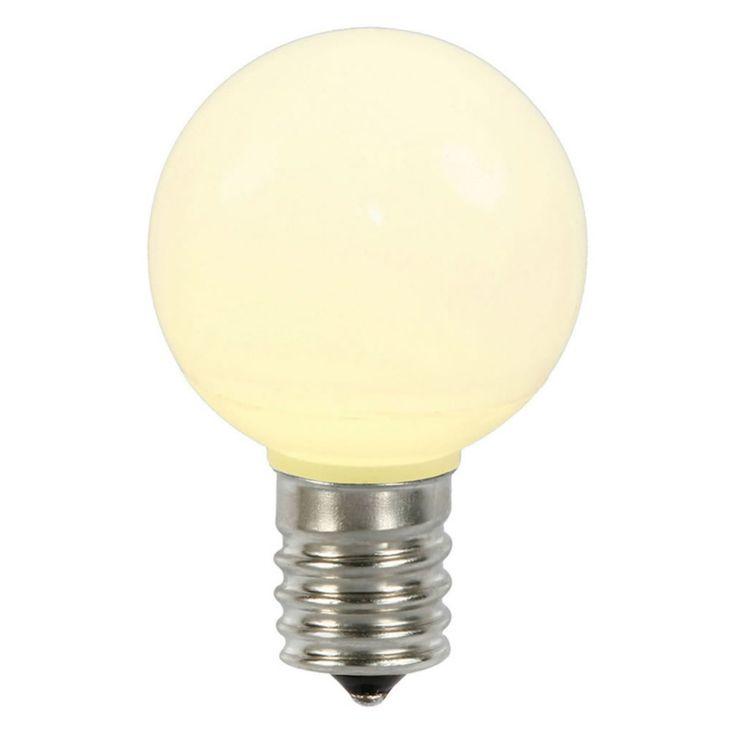 Vickerman Ceramic G50 LED Replacement Bulb - Set of 5 - XLED5CG51