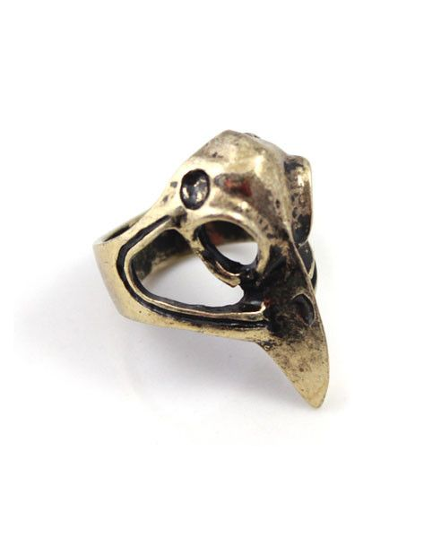 Vintage Coucou Head Ring