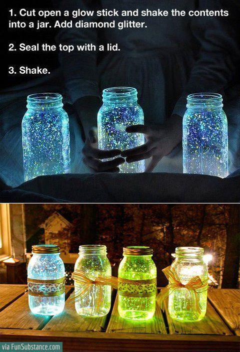 Glow stick jar - FunSubstance.com on imgfave