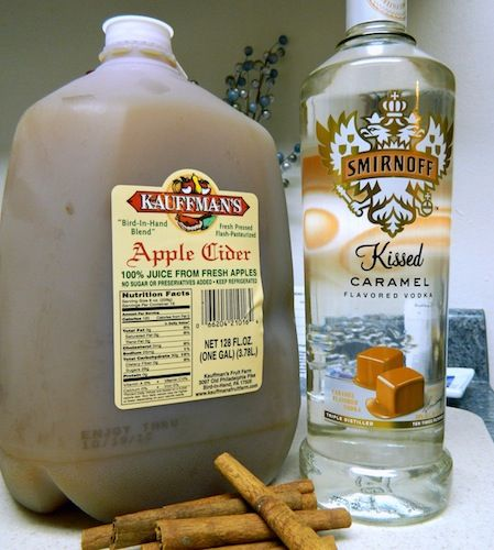 Hot Caramel Apple Cider...tried it just as it's written. FABULOUS.  Easy and quick to make. Nice warm-you-up -drink on a cold night...Dayna