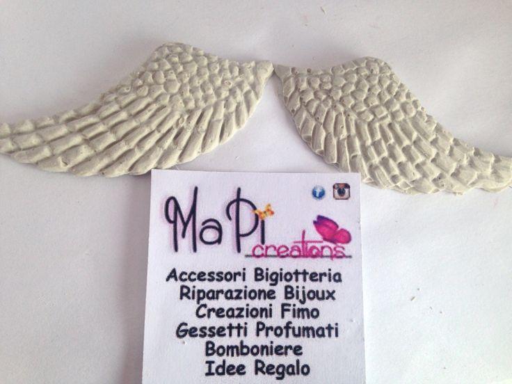 Gessetto profumato segnaposto handmade With love creazione evento