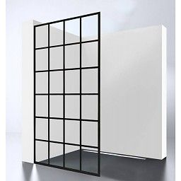 "Best Design BD Inloopdouche ""Black Screen"" 1000x2000x10mm"