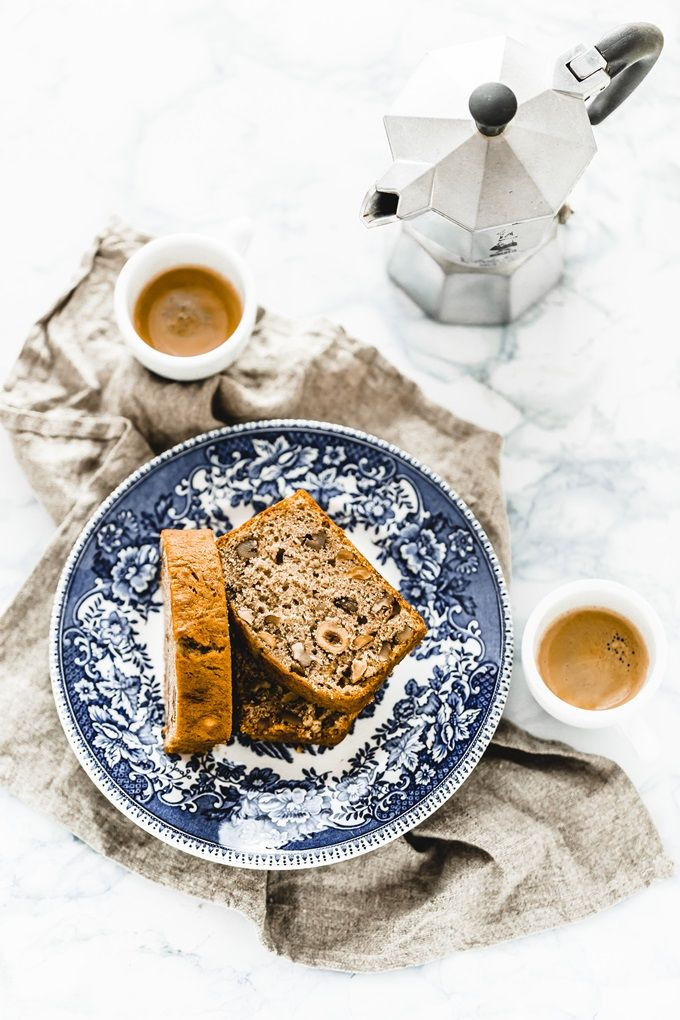Banana Bread with Hazelnuts | Oggi, Pane e Salame, Domani..., November 2015 [Original recipe in Italian]
