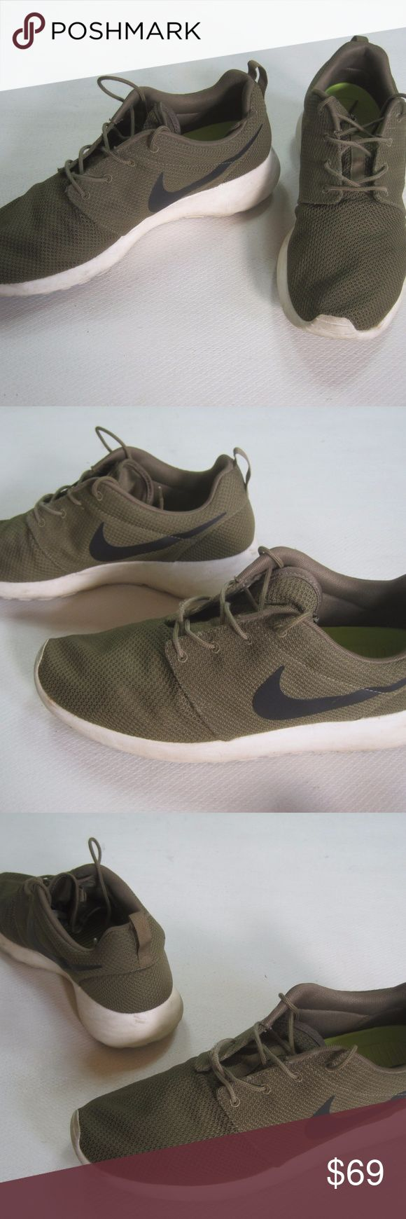 Best Drop Shipping Nike Roshe Run Couple running shoes Khaki[511881-201]