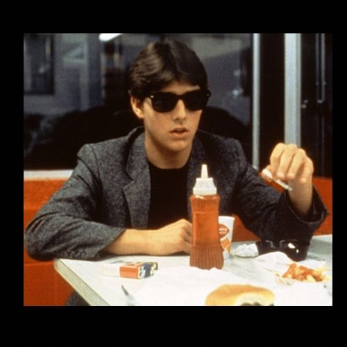 Tom Cruise in Risky Business (1983) -   When he wasn't dancing in his boxers, a young Tom Cruise looked slick as ever in this tweed sport coat.   #TomCruise #Celebrity #Fashion #MenStyle #TweetCoat #Blazers #SportsCoat  Read more: http://www.askmen.com/fashion/galleries/sport-coat-looks-100-looks-10-pieces-1-closet-10.html