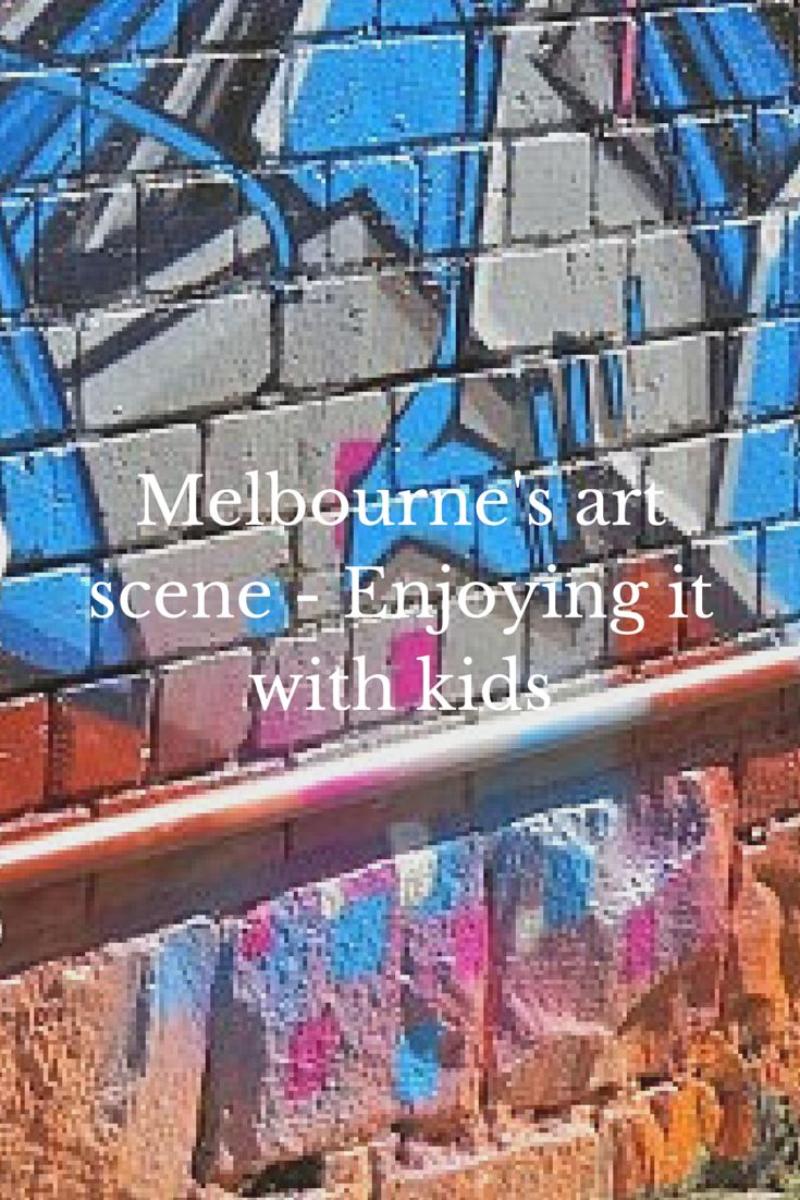 The best of Melbourne's art scene to experience with your kids.