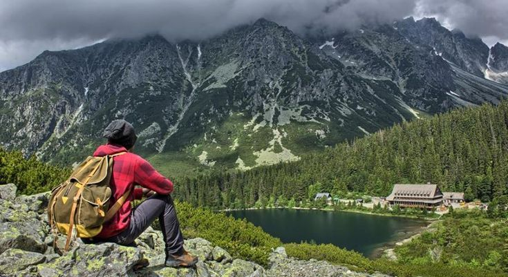 Poprad Lake in High Tatras