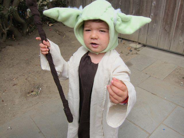How to Make a Kid's Yoda Costume   eHow