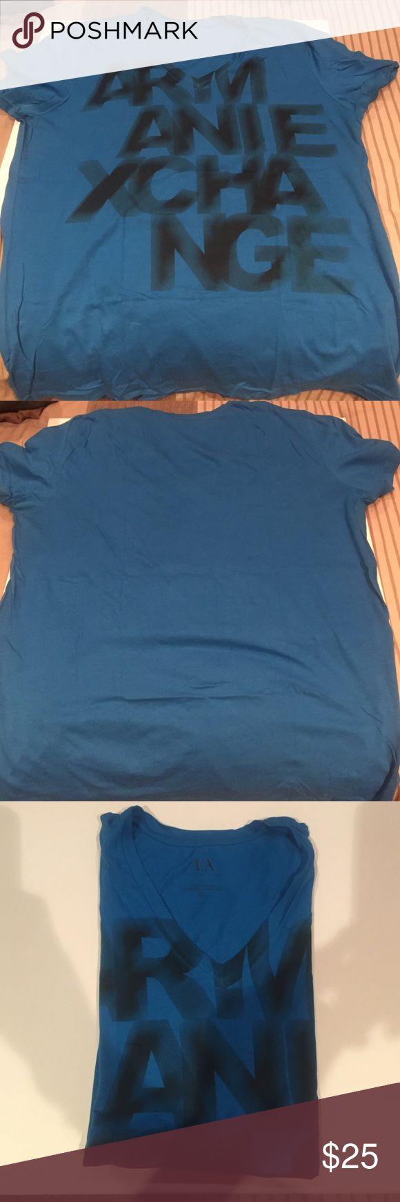 Graffic tee A/X fashionable tee A/X Armani Exchange Shirts Tees - Short Sleeve