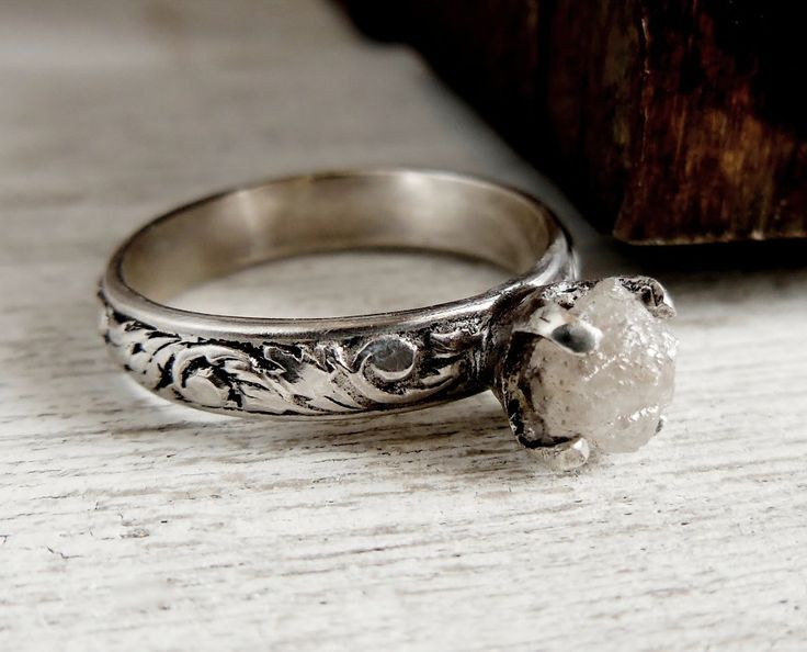 unique silver fullxfull il heavy rings tic wide ring products rustic and