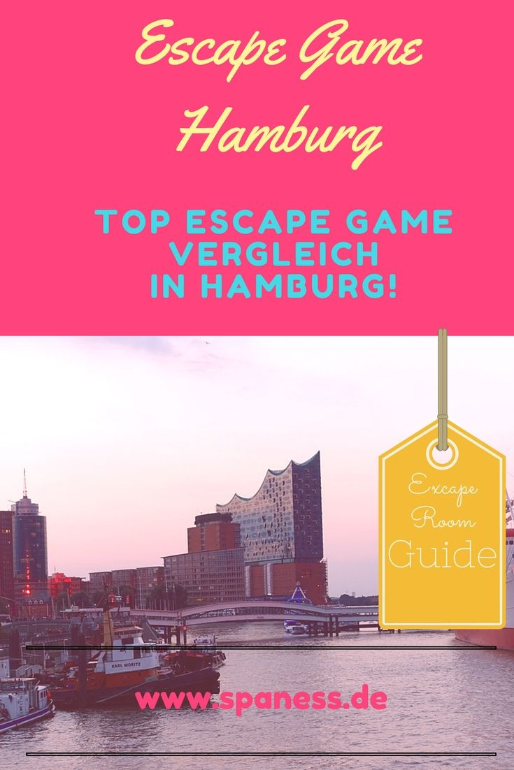 Escape Game Hamburg - der große Escape Game Room Vergleich in Hamburg.