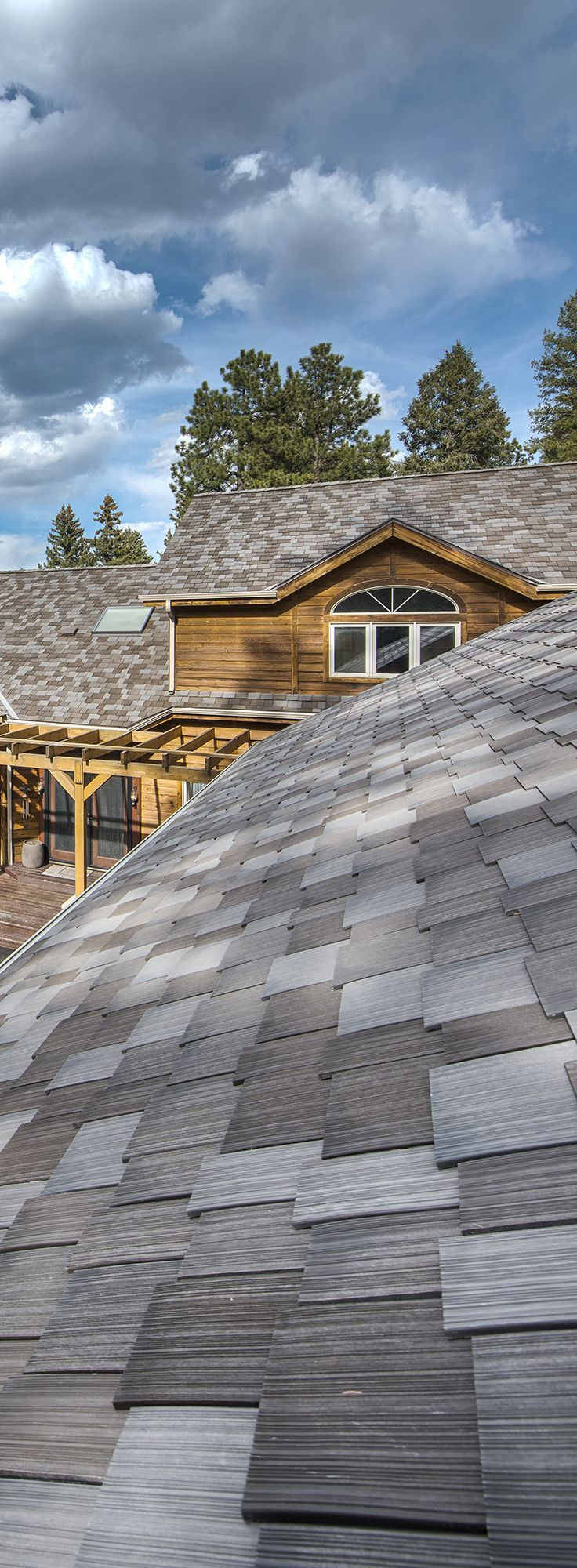 Quality roofing job begins before the shingles go on home remodeling - Cedar Shake Roofing Shingles Are Perfect For Rustic Home Renovations And Ply Gem S Composite Cedar