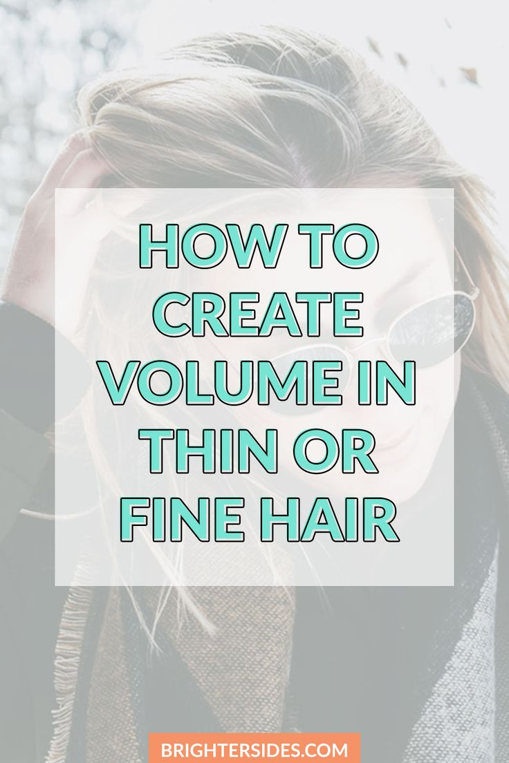 Useful tips on how to make thin hair or fine hair look fuller and more voluminous. Learn the difference between thin hair vs fine hair, top product recommendations, and more, from a profesional hair stylist.