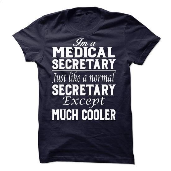 Medical Secretary - #silk shirts #fitted shirts. BUY NOW => https://www.sunfrog.com/LifeStyle/Medical-Secretary-53889591-Guys.html?60505